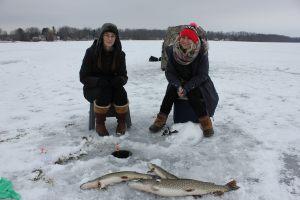 St. John Pike Ice Fishing