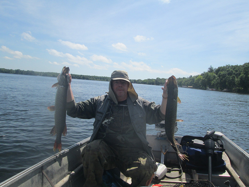 Dalrymple Lake Pike June 2016