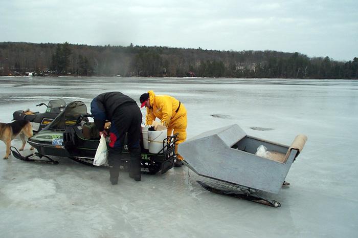 Lake simcoe fishing forum topic boshkung lake ice 1 1 for Ice fishing forum